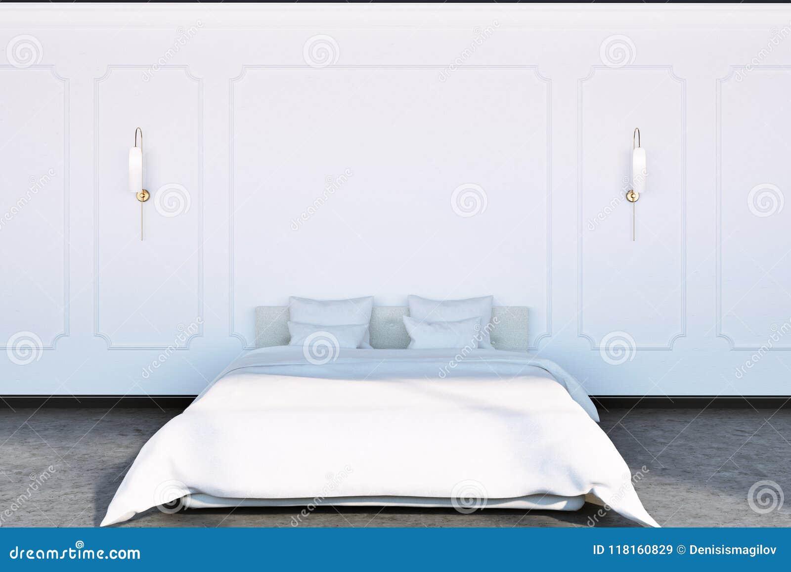 Luxury Modern Bedroom Interior Stock Illustration Illustration Of Decor Building 118160829