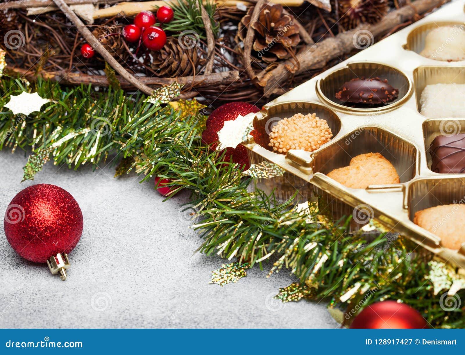 Luxury Belgian Christmas Chocolate And Biscuit Cookies ...