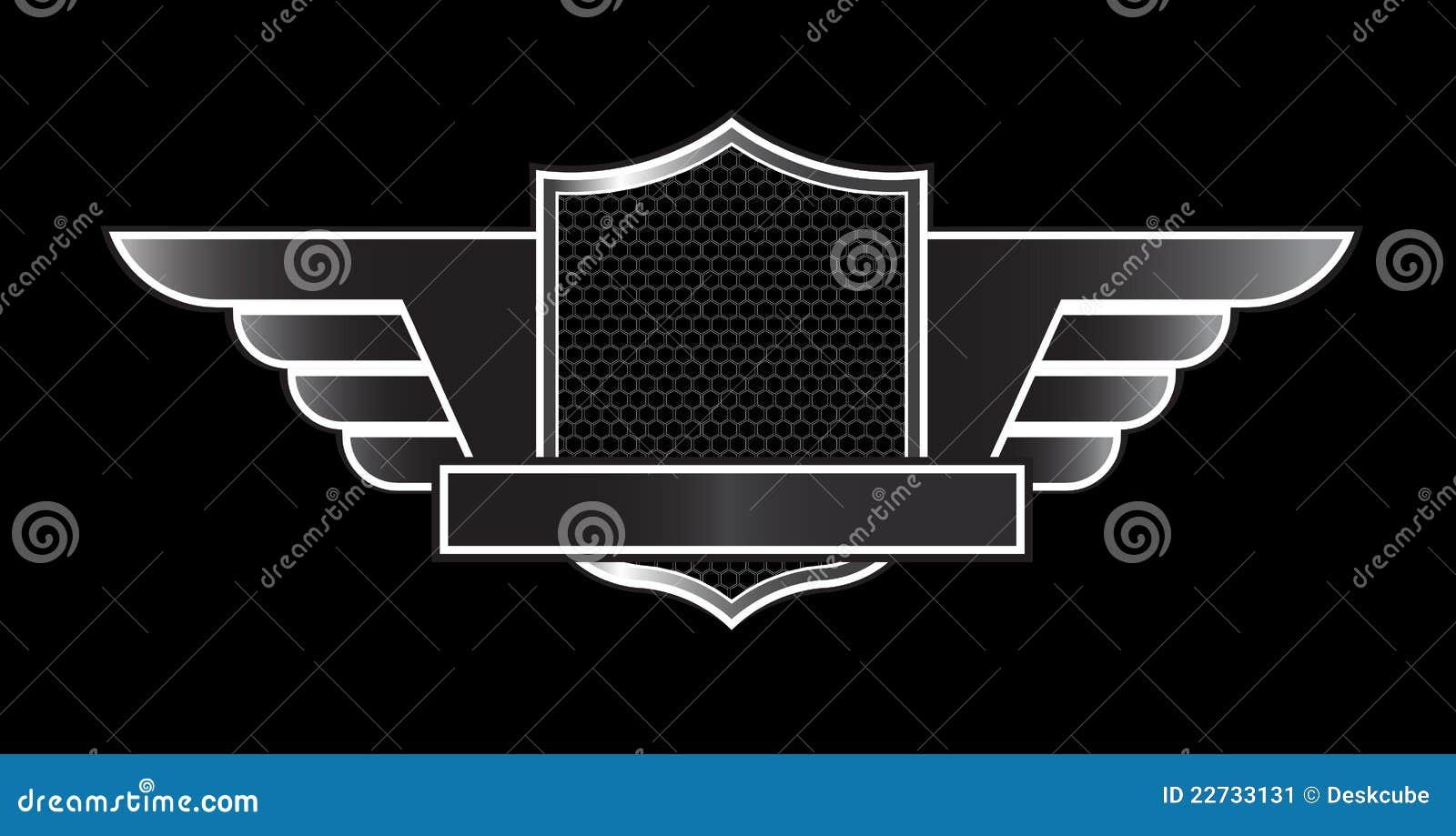 Luxury Black Emblem Stock Vector Illustration Of Grid 22733131