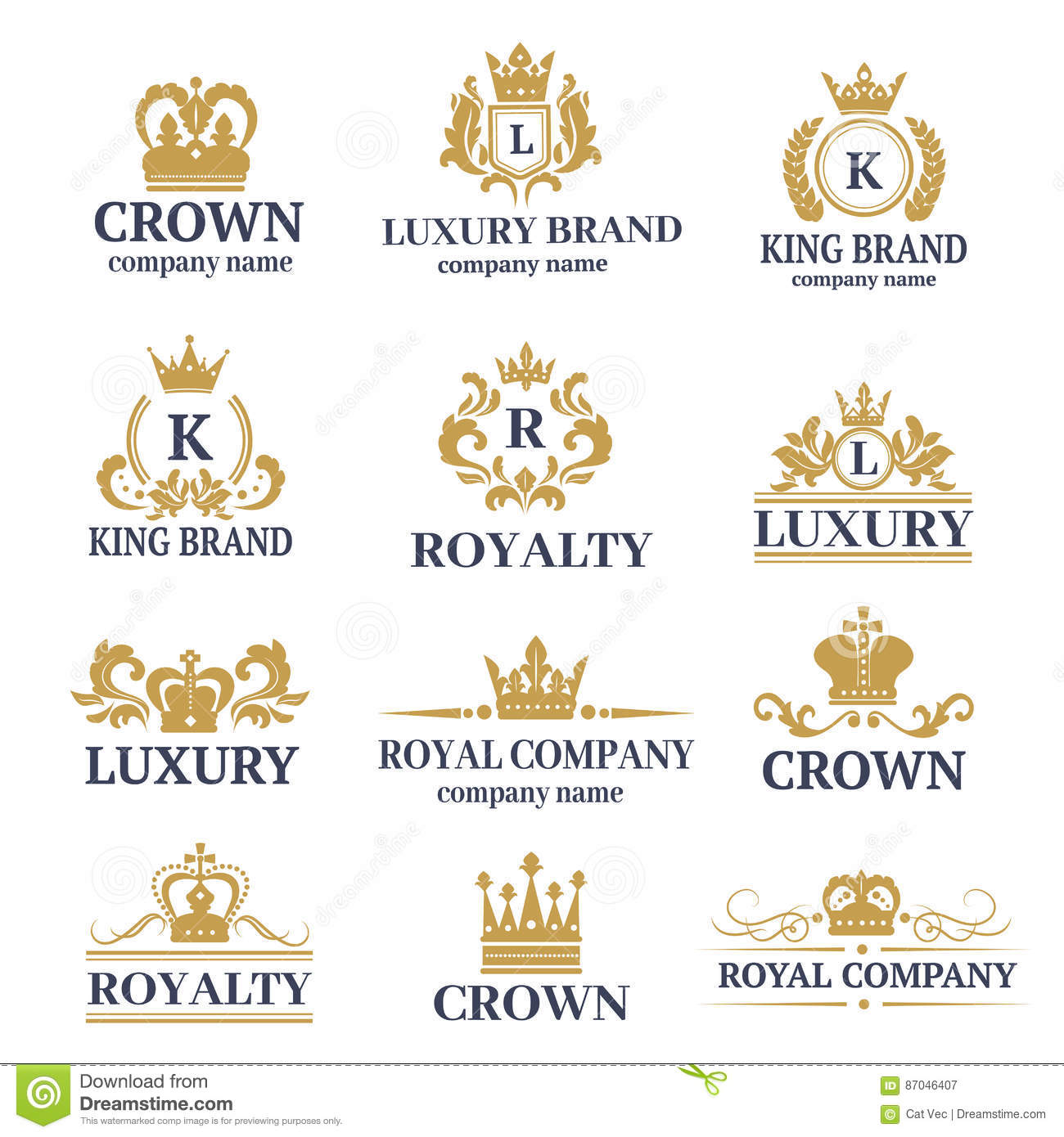 Luxury Boutique Calligraphy Logo Best Selected Collection