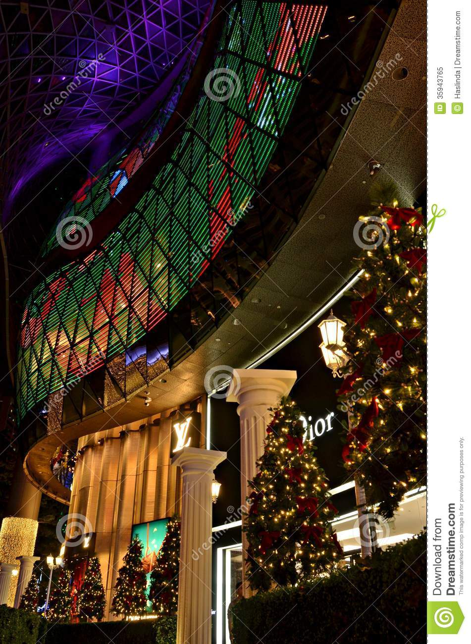 Luxury brand store christmas editorial image image 35943765 for Xmas decoration stores