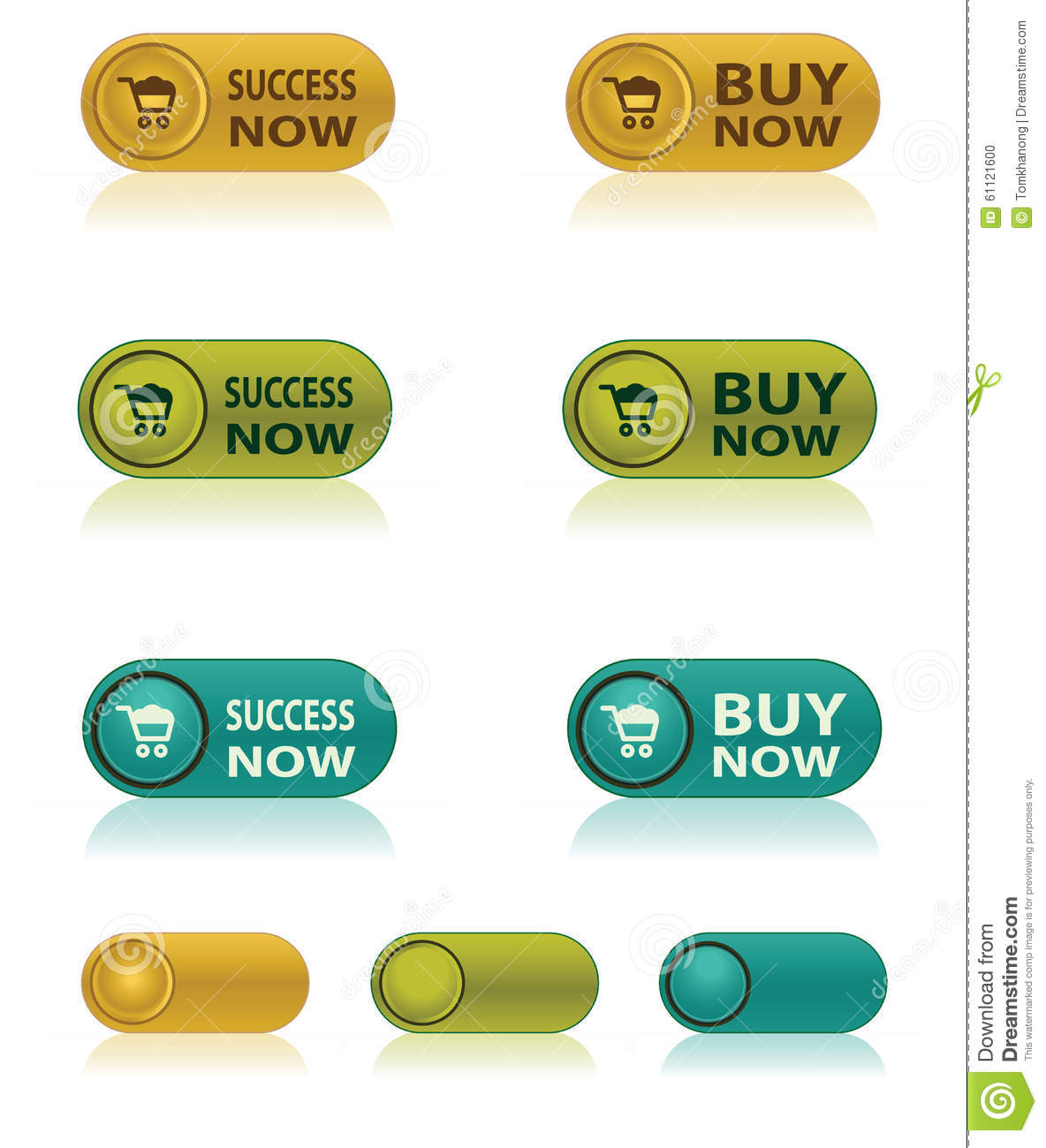 Buy This Now: Buy Now Icon Set Vector Illustration
