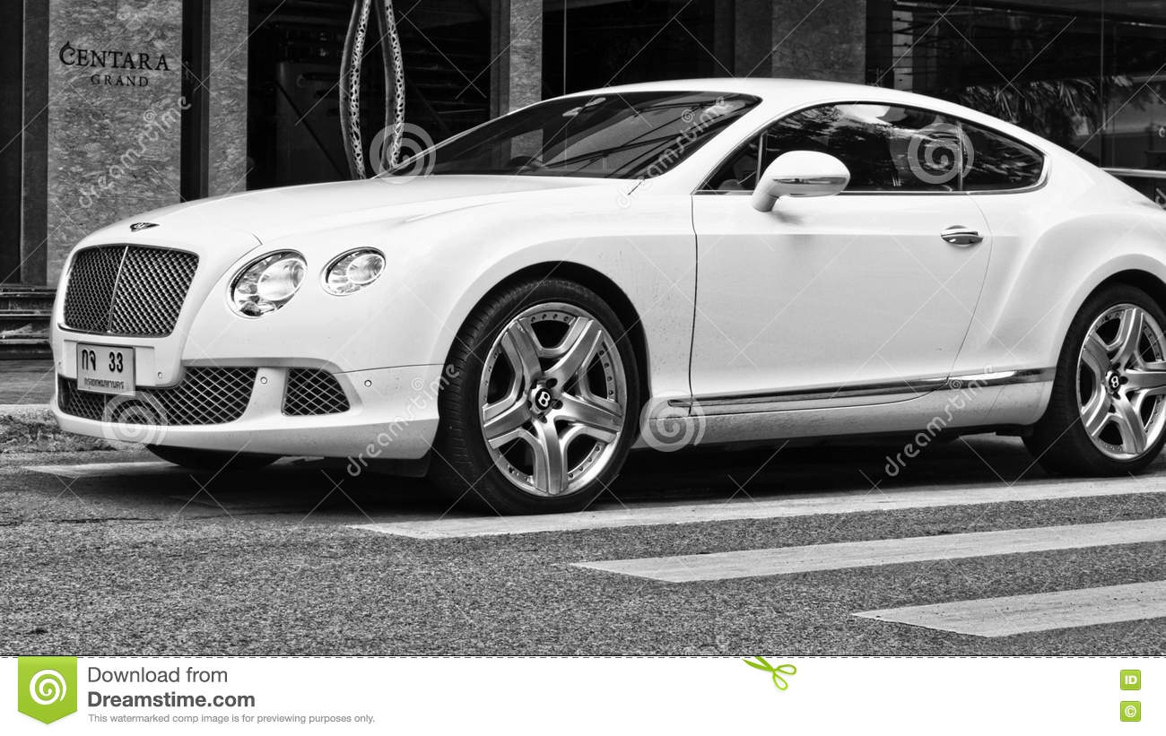 Luxury Car Bentley Continental Gt At The City Street Editorial Photo Image Of Interclassics Bentley 76677256