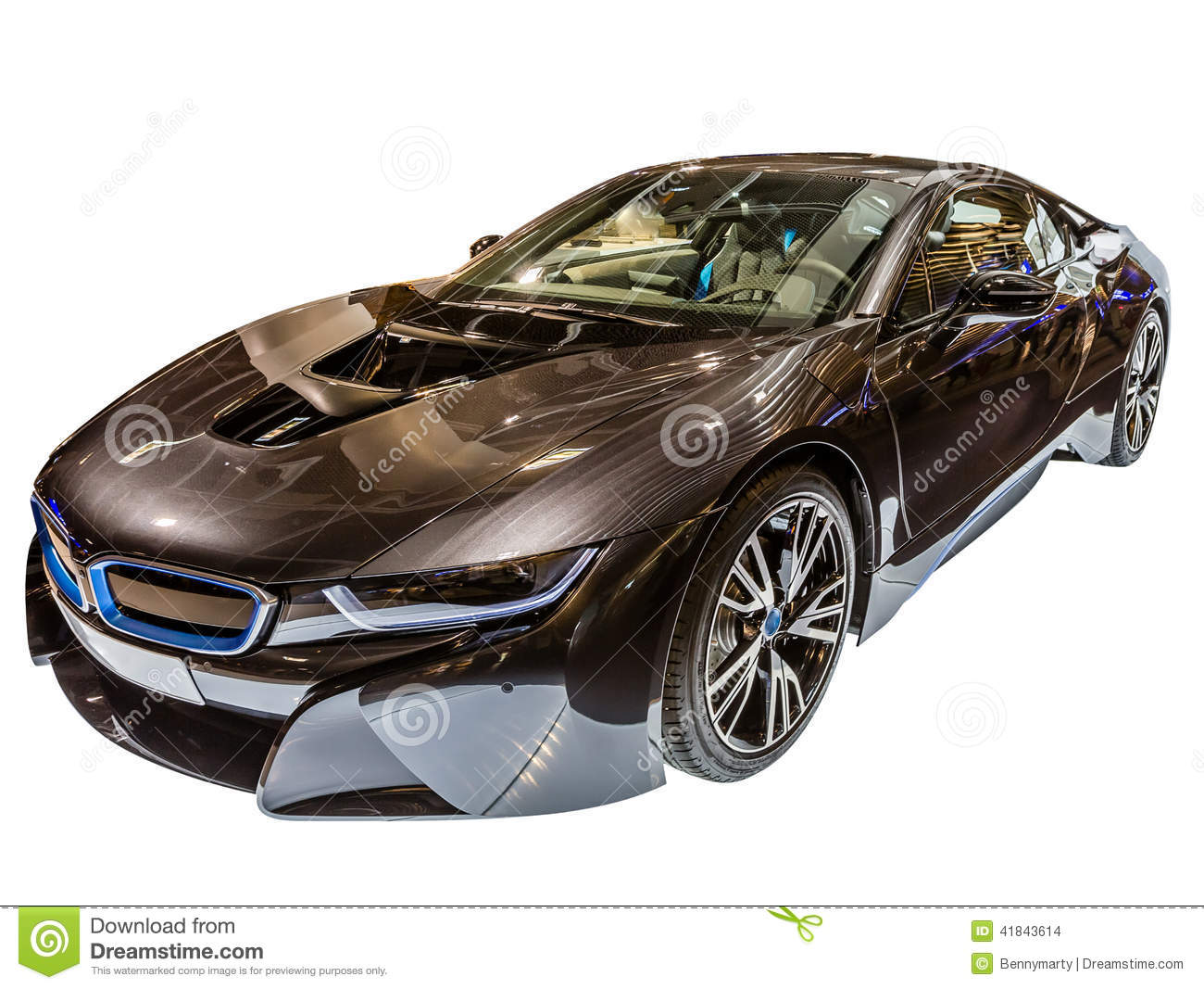 Luxury Bmw I8 Stock Photo Image Of Engine Luxury Black 41843614