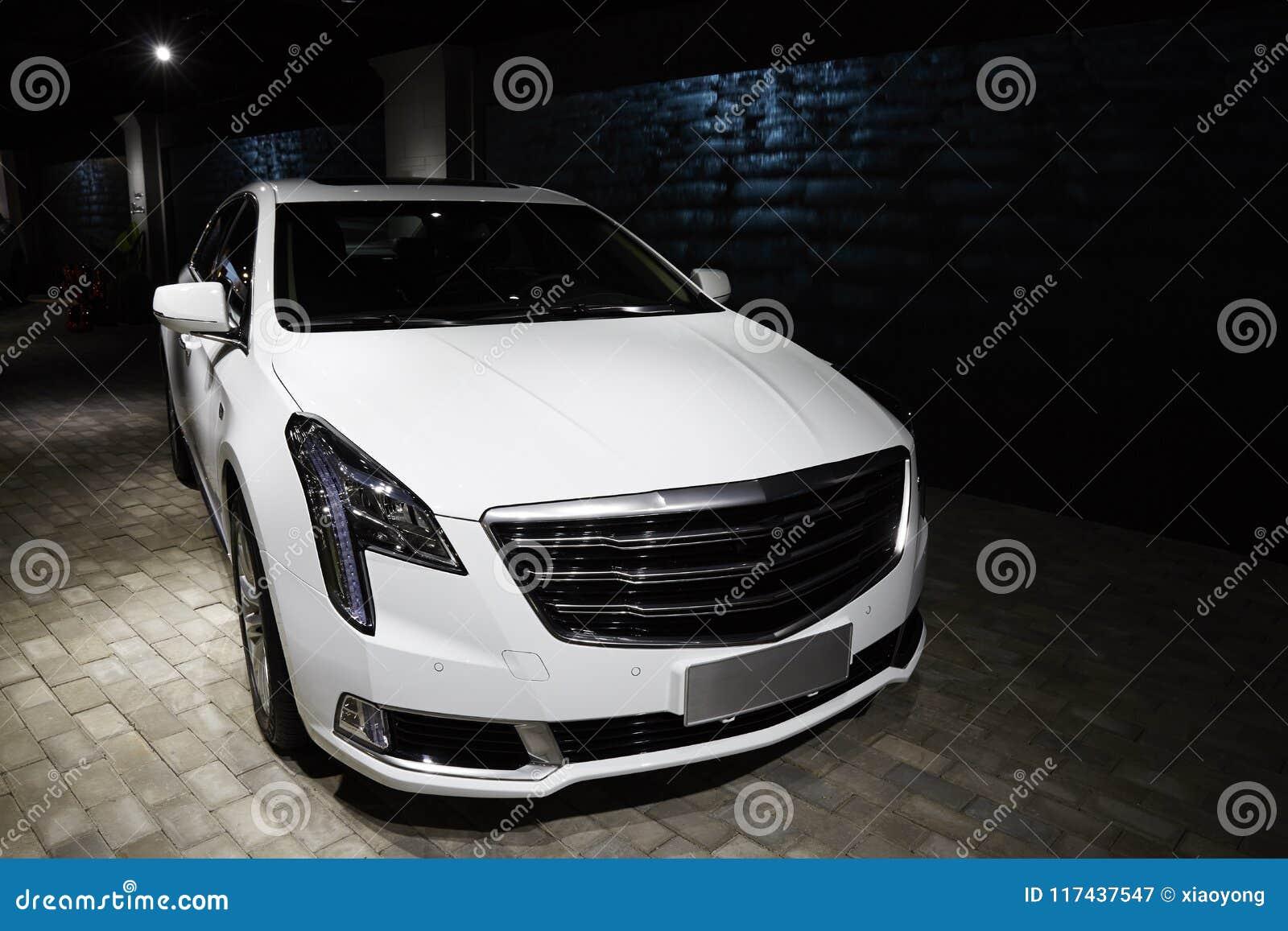 Luxury Car Cadillac Xts Stock Image Image Of Shanghai 117437547