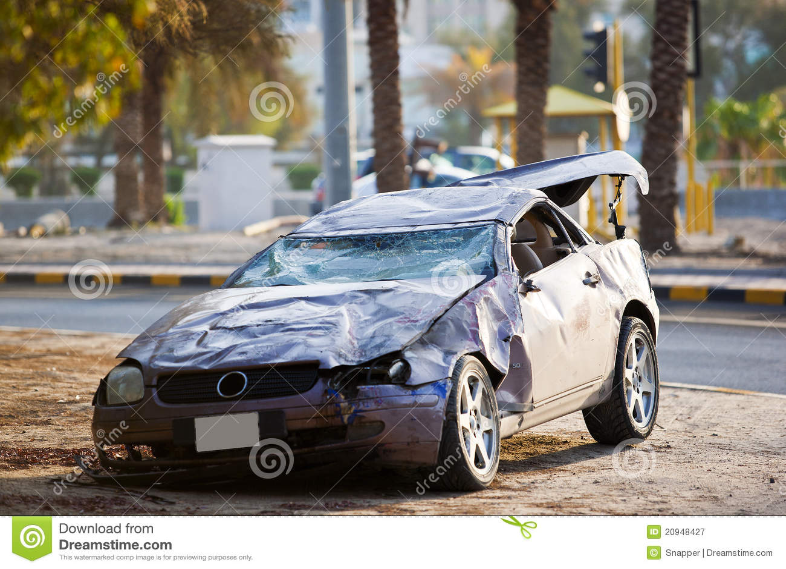 Luxury Car Crash