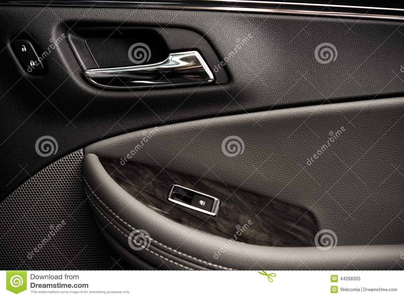 luxury car door stock image image of transportation 44268305. Black Bedroom Furniture Sets. Home Design Ideas