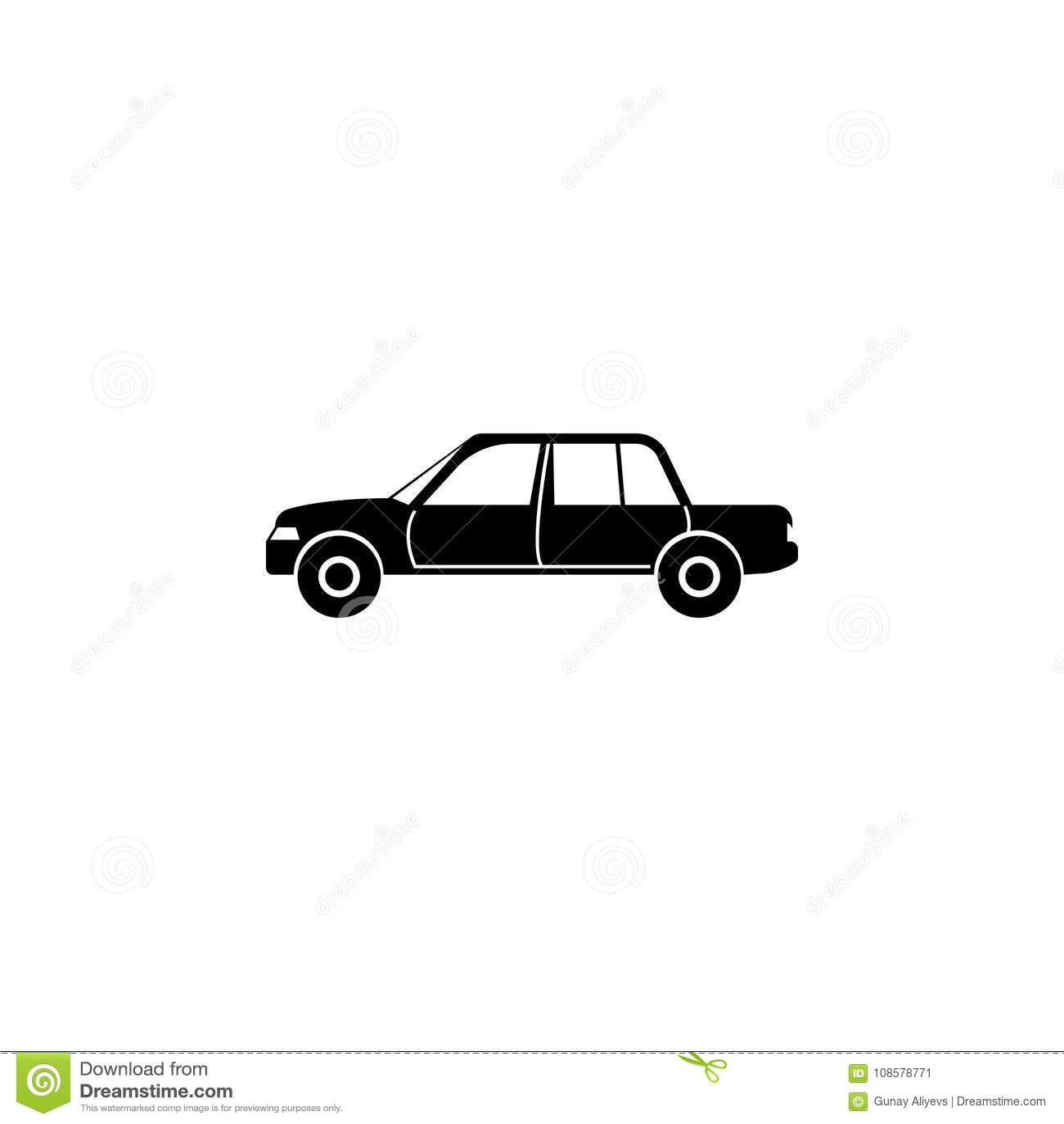 Luxury Car Icon Car Type Simple Icon Transport Element Icon