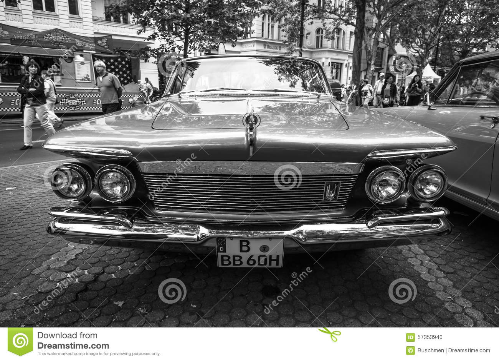Luxury Car Imperial Custom 4-door Southampton, 1961 Editorial Image