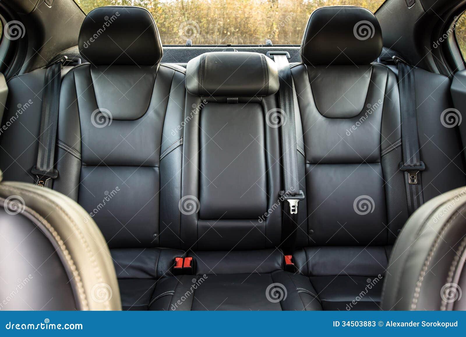 luxury car interior stock image 34503883. Black Bedroom Furniture Sets. Home Design Ideas
