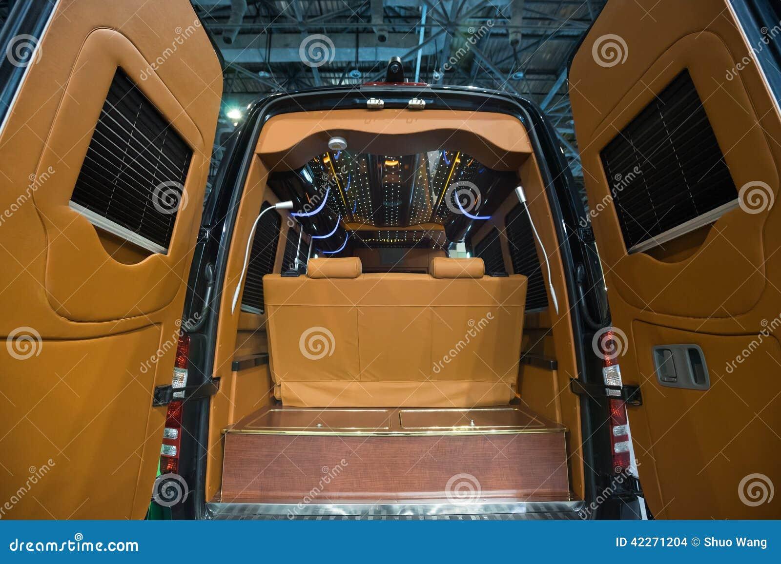 Luxury Car Interior Stock Photo Image Of Furnished Gray 42271204