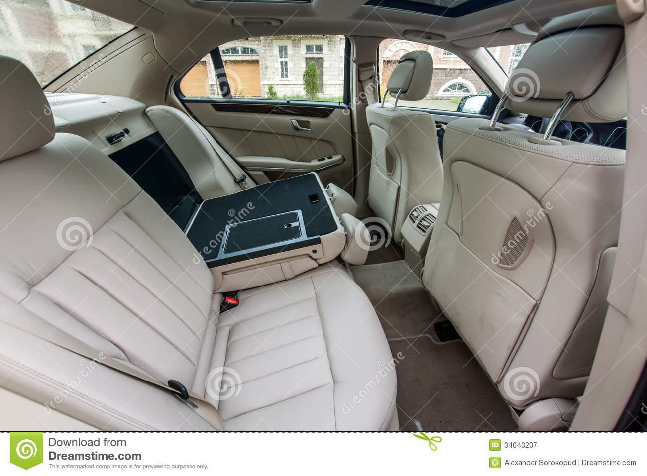 luxury car interior stock image image of speed limo 34043207