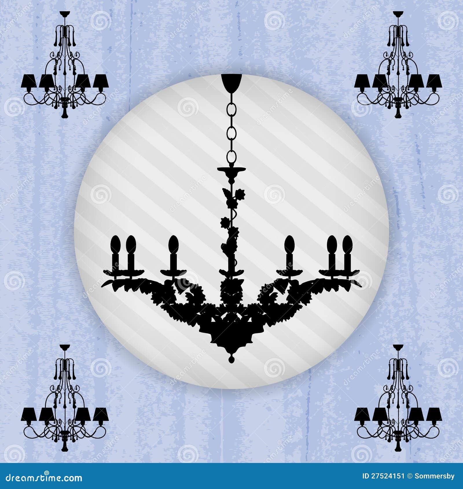 blue chandelier wallpaper - photo #5