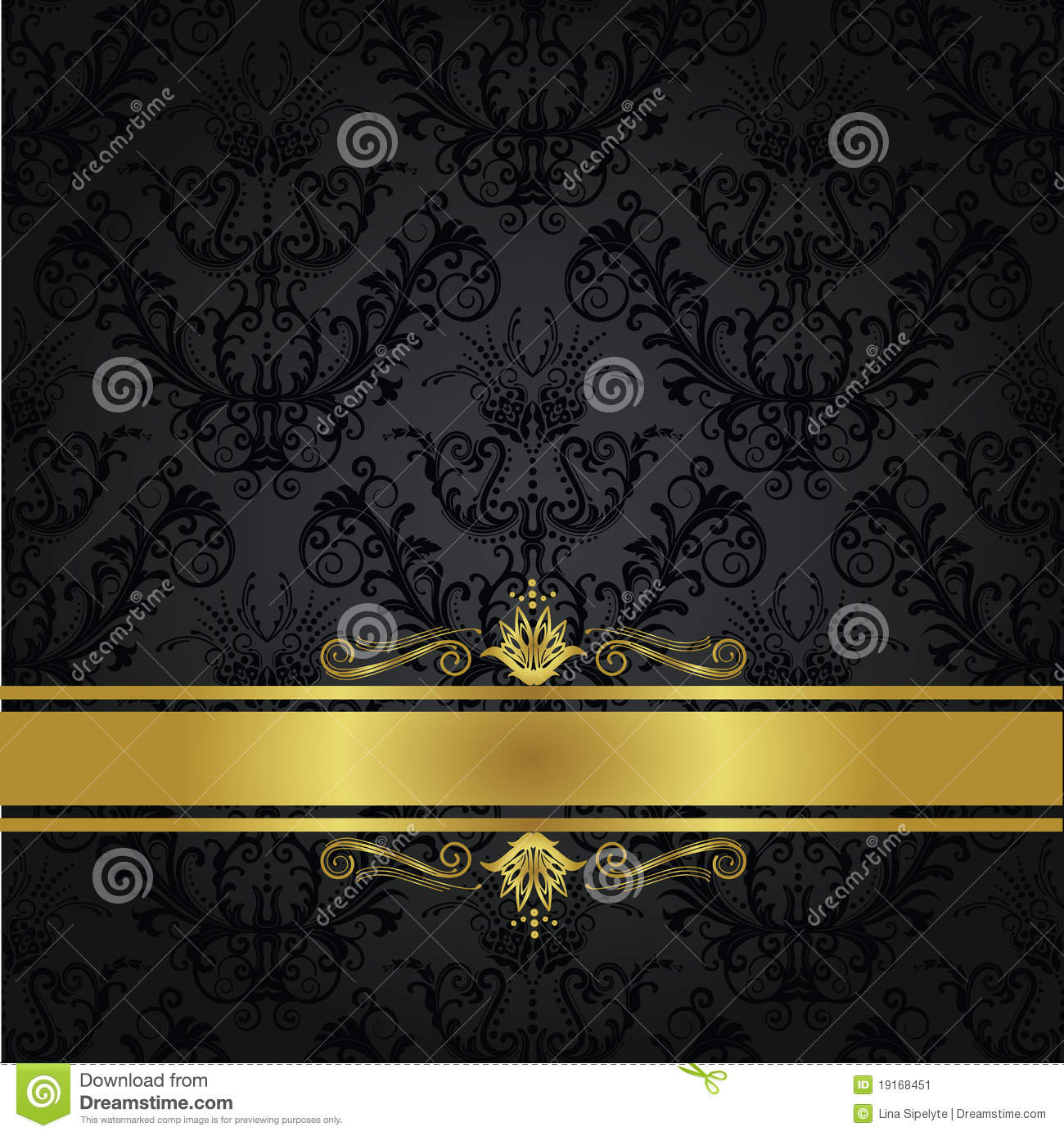 Black And Gold Book Cover : Luxury charcoal and gold book cover stock image