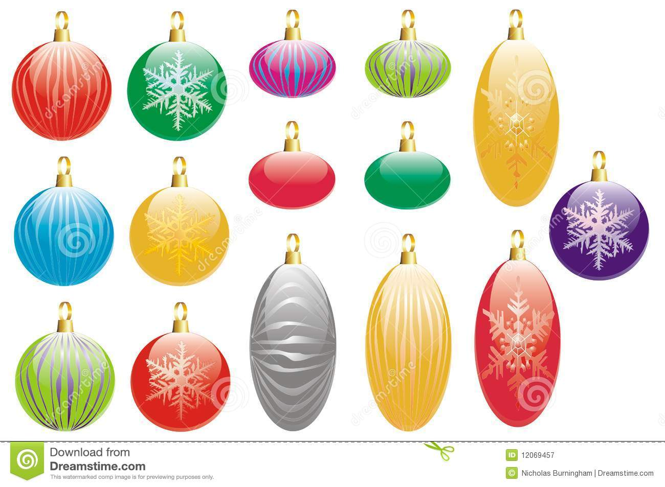 Luxury christmas decorations royalty free stock for Exclusive christmas decorations