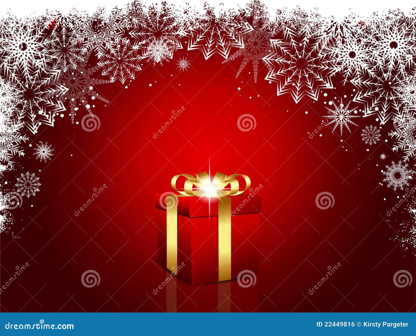 Luxury Xmas Gifts: Luxury Christmas Gift Royalty Free Stock Image