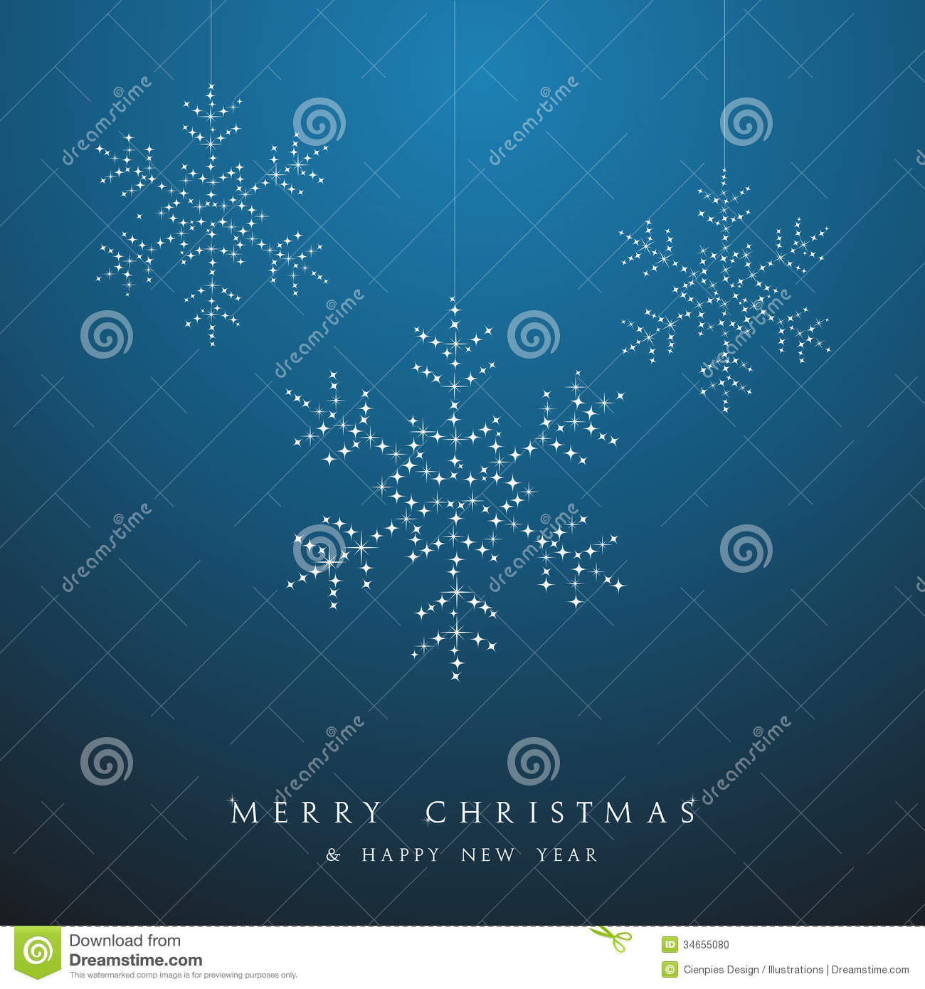 luxury christmas hanging snowflakes baubles vector file