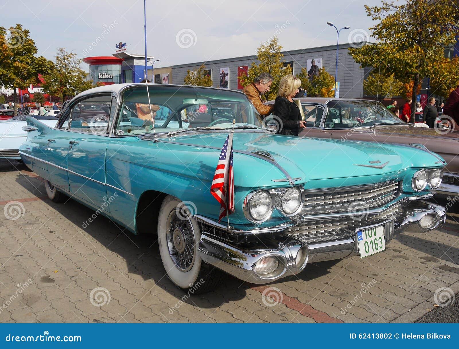 Vintage American Classic Car Cadillac S Editorial