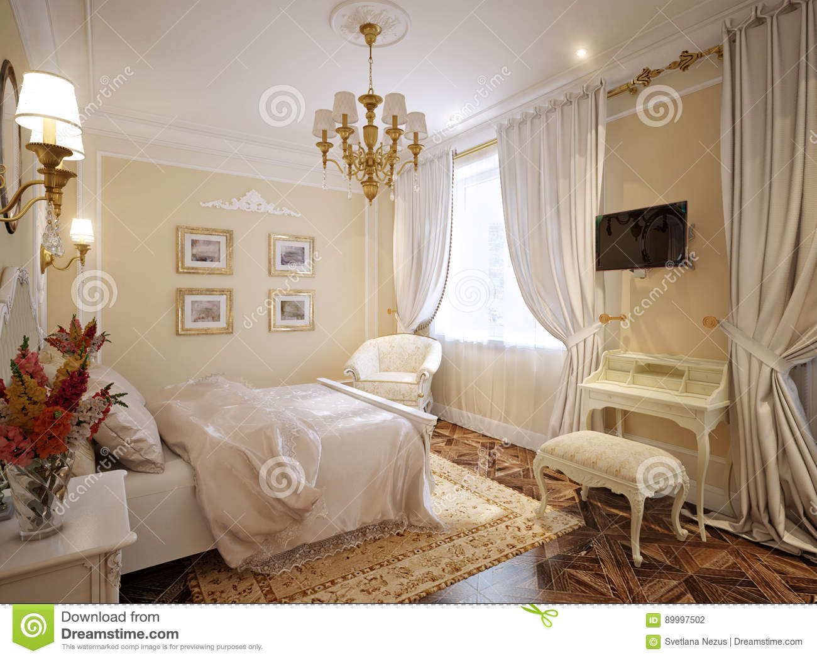 Luxury Classic Interior Design Bedroom Luxury Classic Modern Bedroom Interior Design
