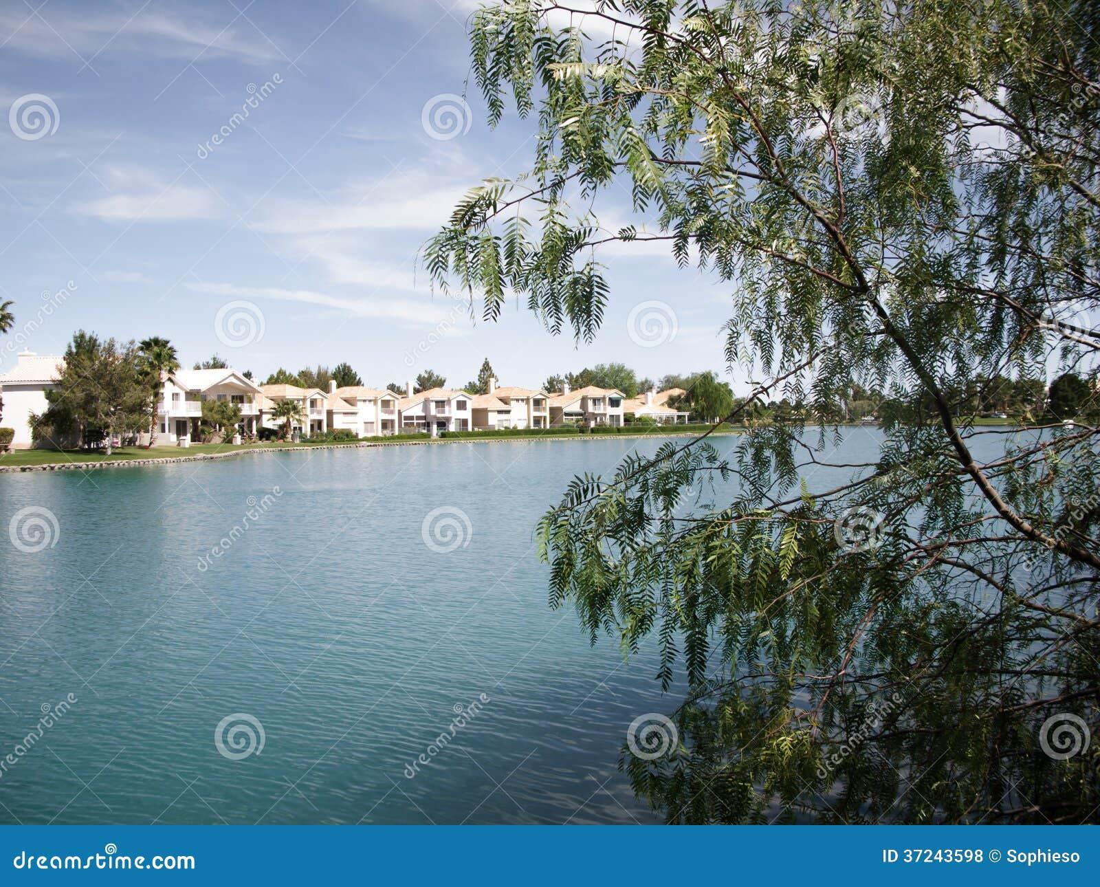 Luxury Condominiums On Man-Made Lake