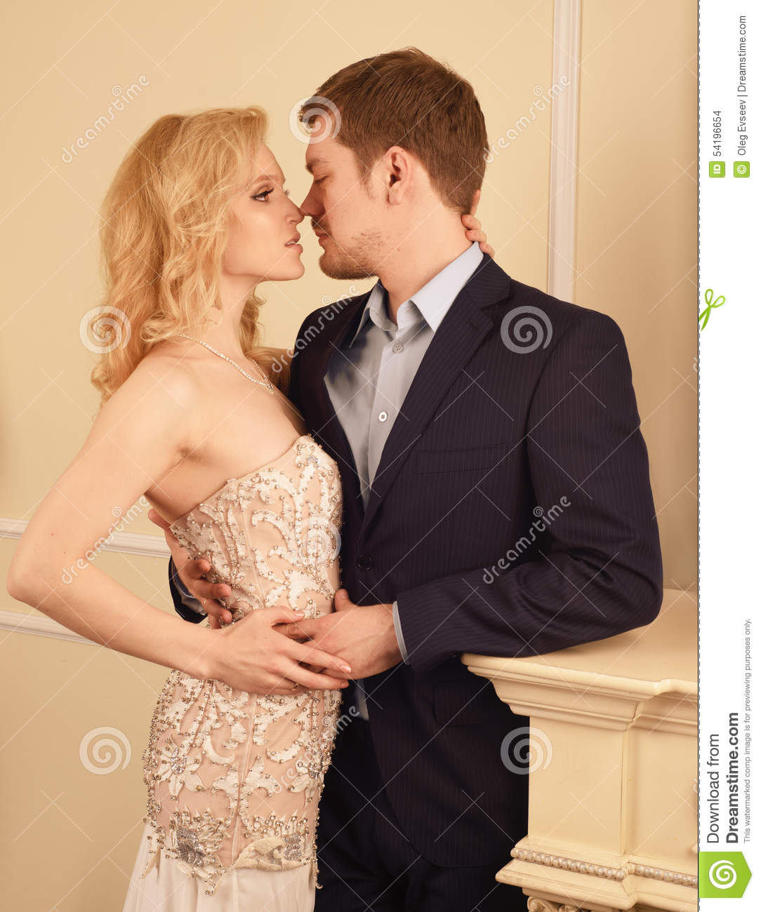Rich Couple Expecting Baby Royalty-Free Stock Photography ...