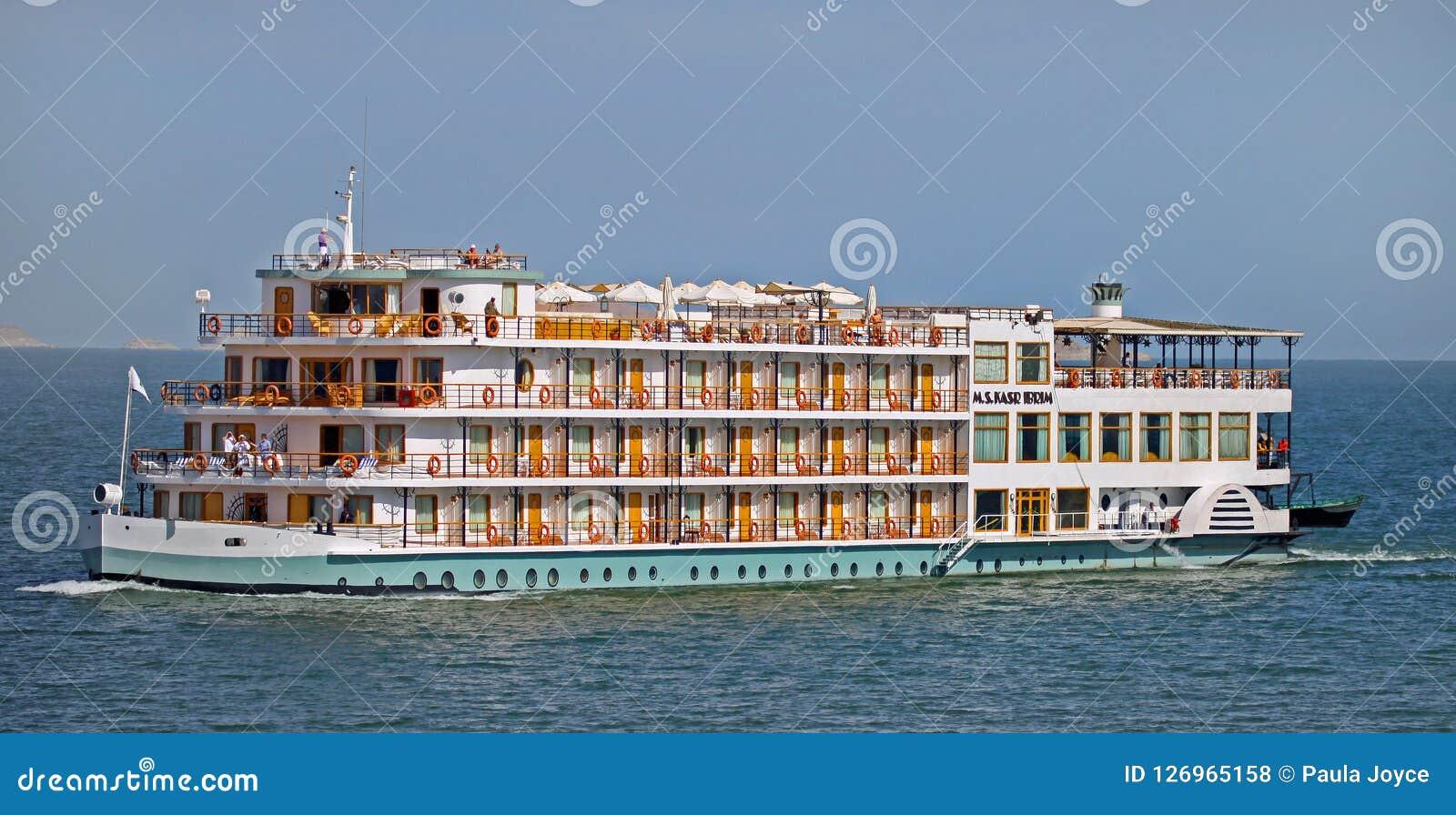 Luxury Cruise Across Lake Nasser In Egypt Editorial Stock