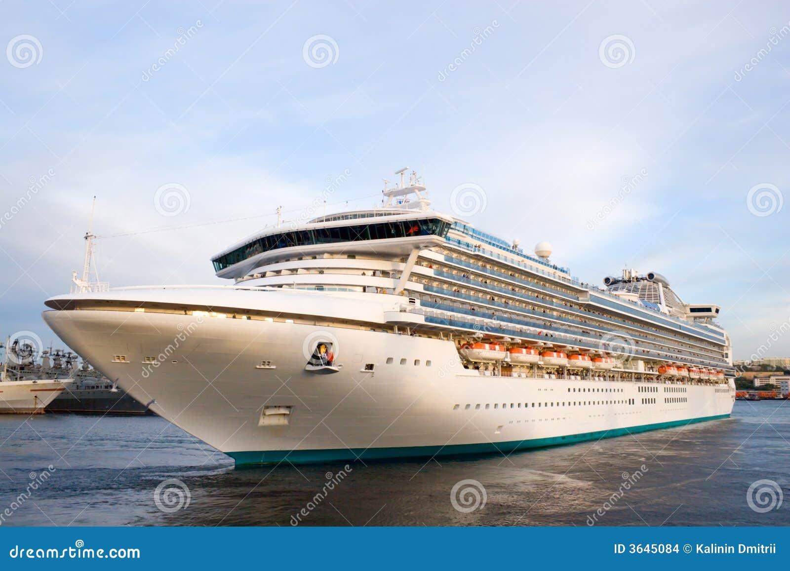 Luxury Cruise Ship Stock Images  Image 3645084