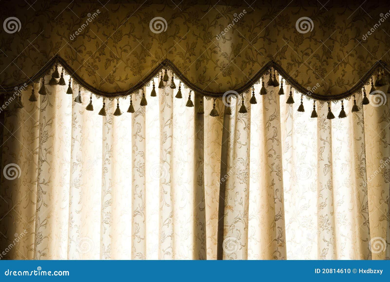 Luxury Curtain Stock Photo Image Of Elegant Domestic