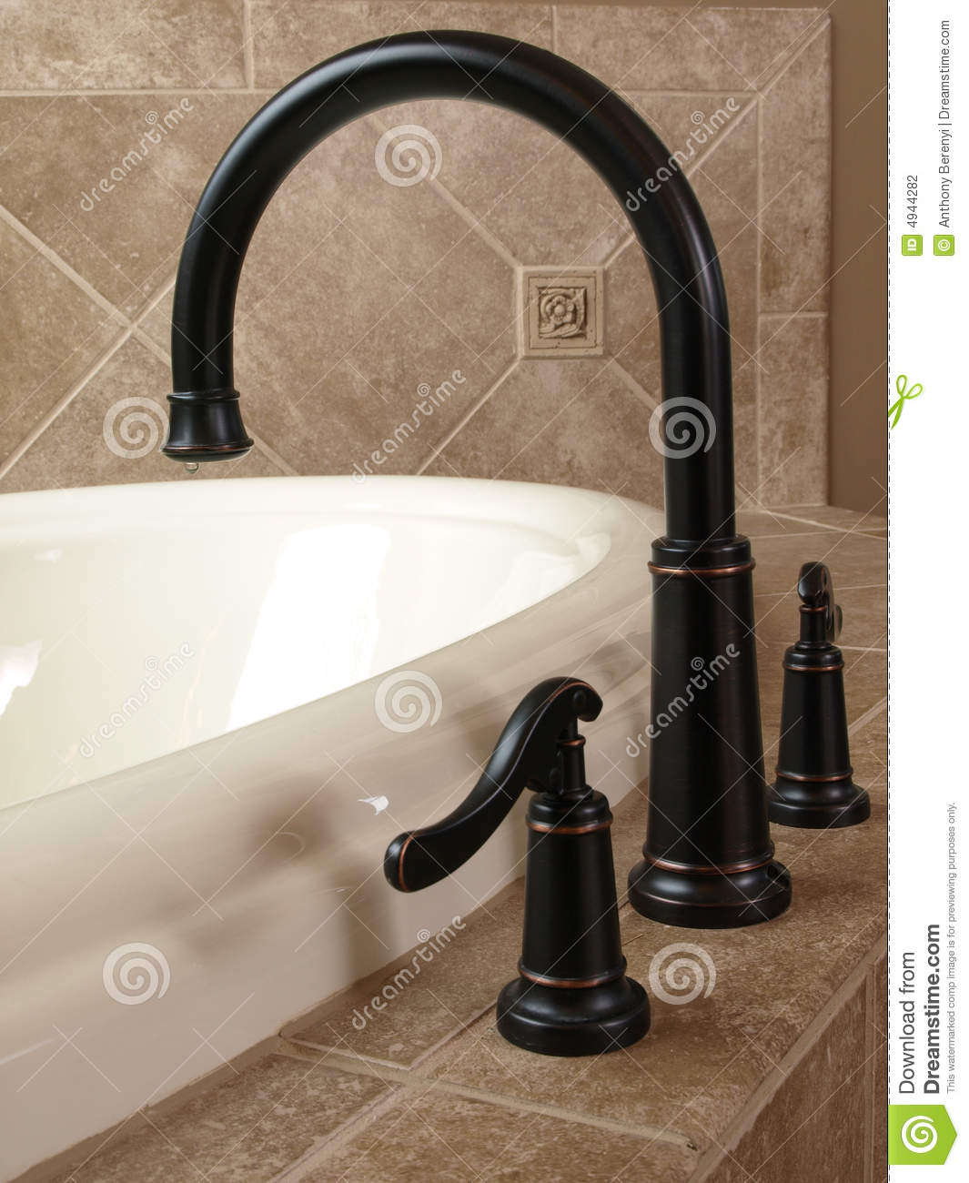 Luxury Curved Jacuzzi Faucet Stock Photo Image Of Room Regal 4944282