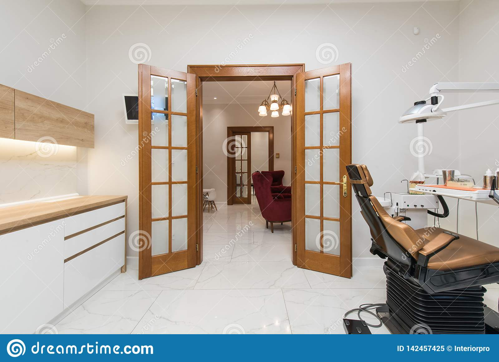 Luxury Dental Office In Dental Clinic Stock Image Image Of