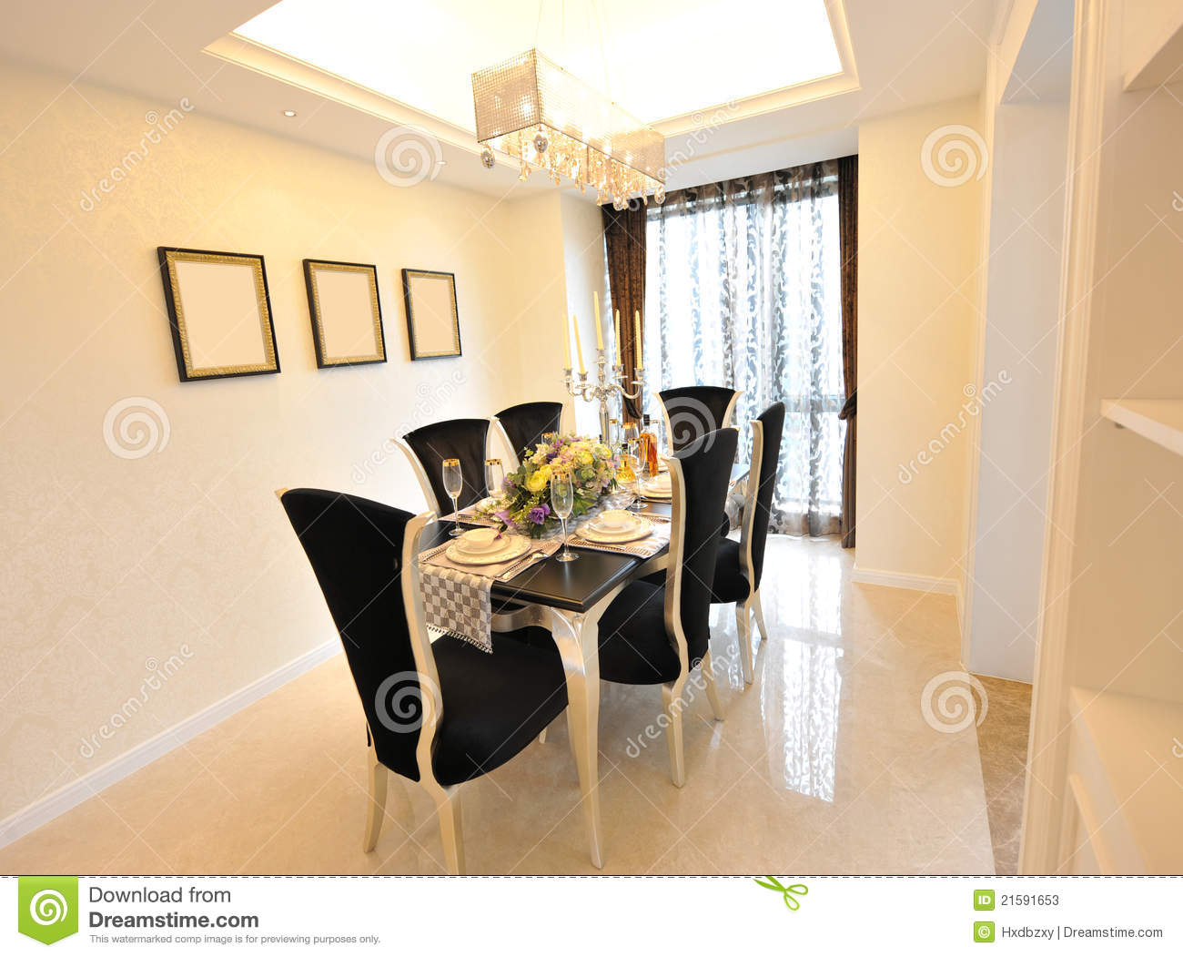 Remarkable Stock Photos: Luxury dining room 1300 x 1051 · 140 kB · jpeg