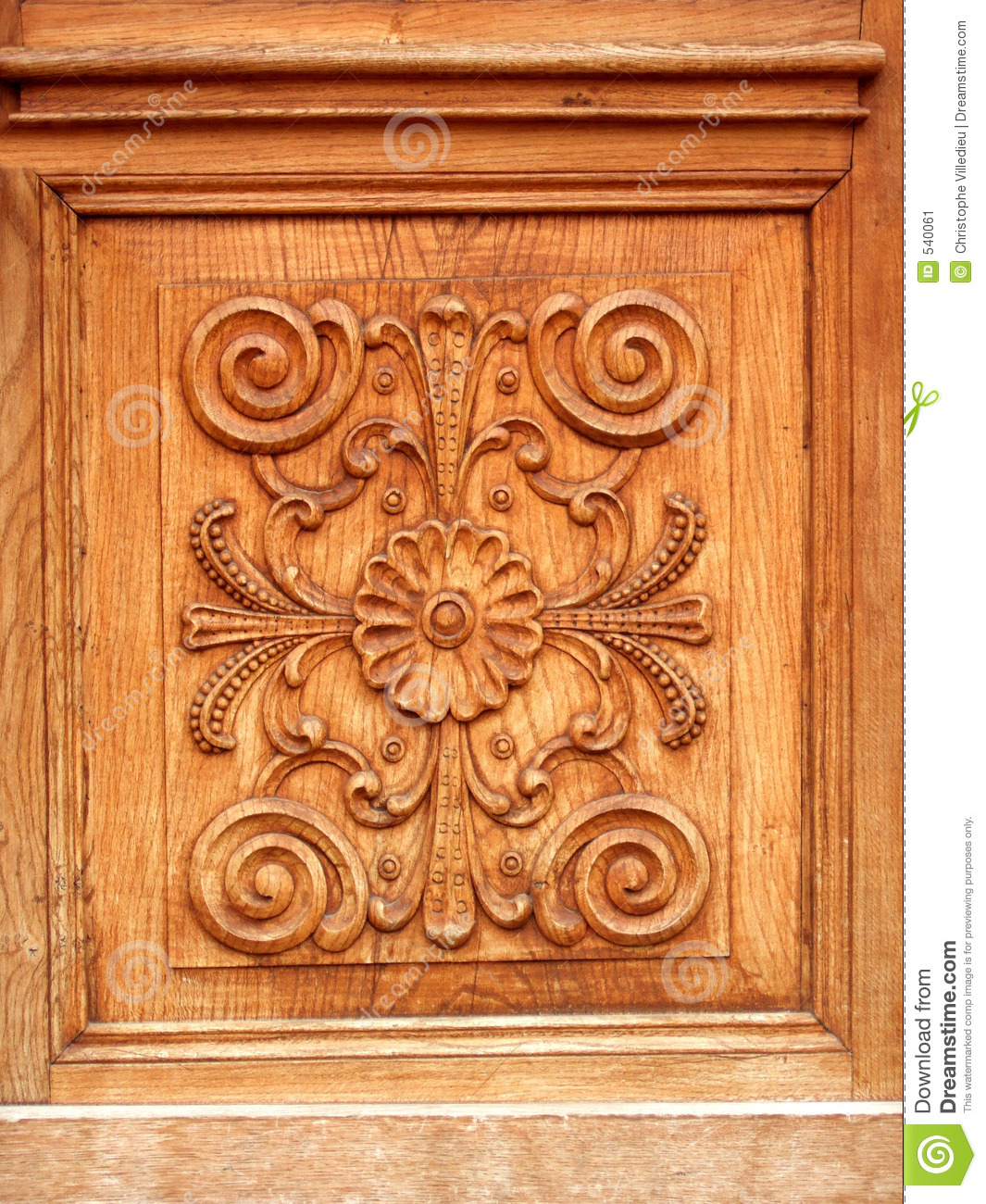 Download Luxury Door Stock Image. Image Of Artistry, Block, Front   540061