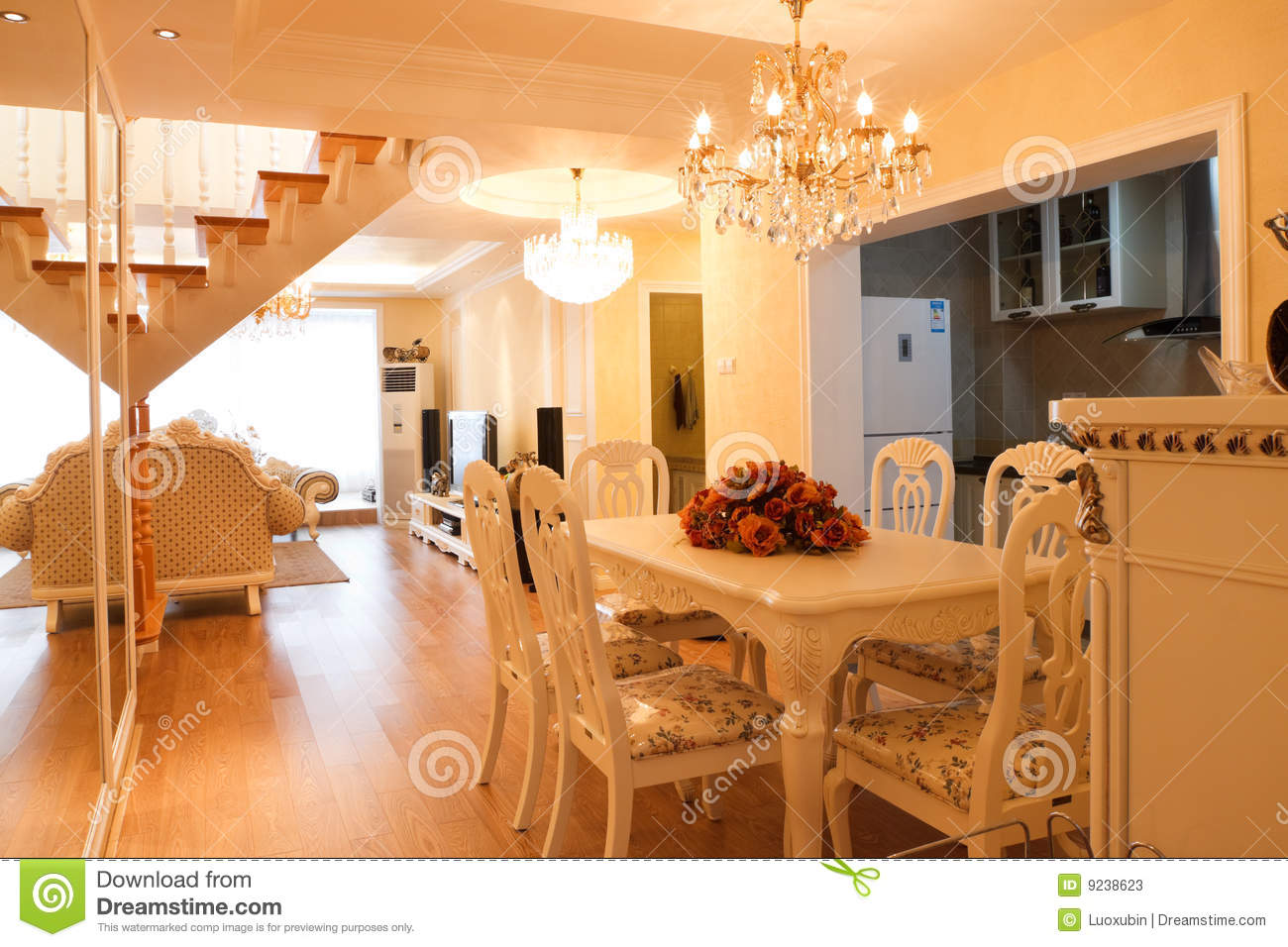 Luxury Expensive House Interior Stock Image Image 9238623