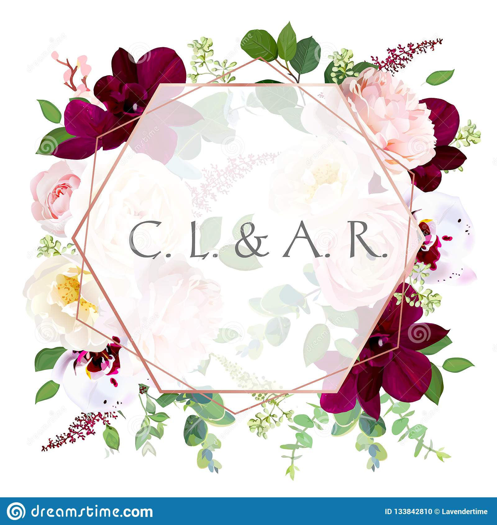 luxury fall flowers vector design card stock vector - illustration of  branch, greenery: 133842810  dreamstime.com