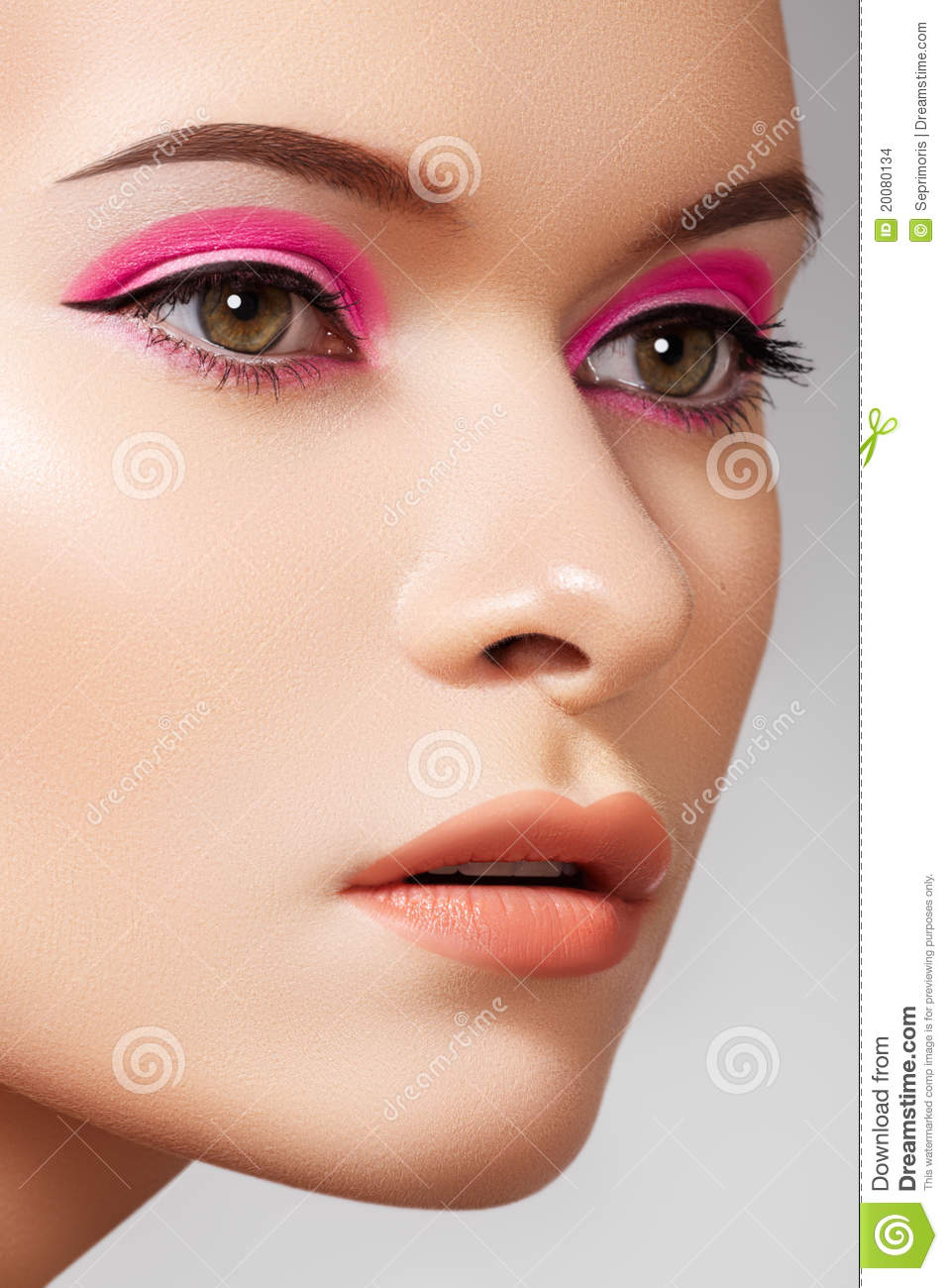 Cosmetics And Makeup: Luxury Fashion Cosmetics And Bright Beauty Make-up Stock
