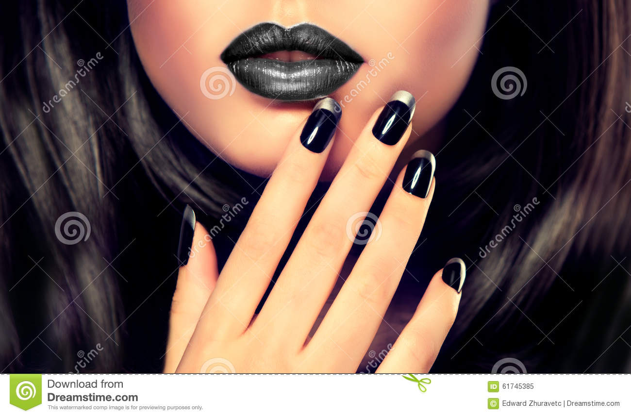 Luxury fashion style, manicure, cosmetics and makeup .
