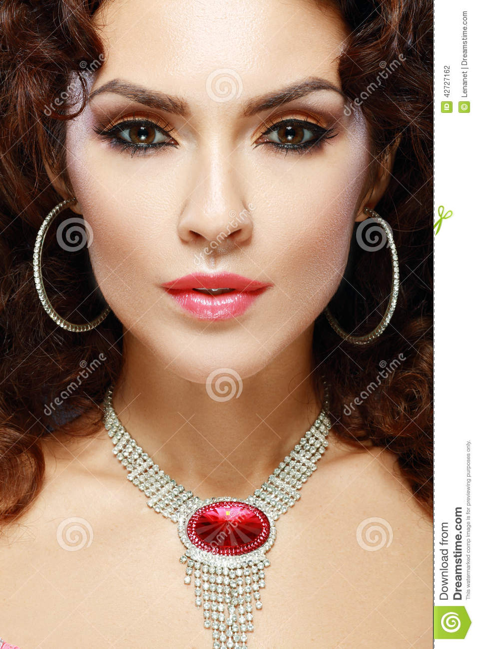 Luxury Fashion Woman Stock Photo