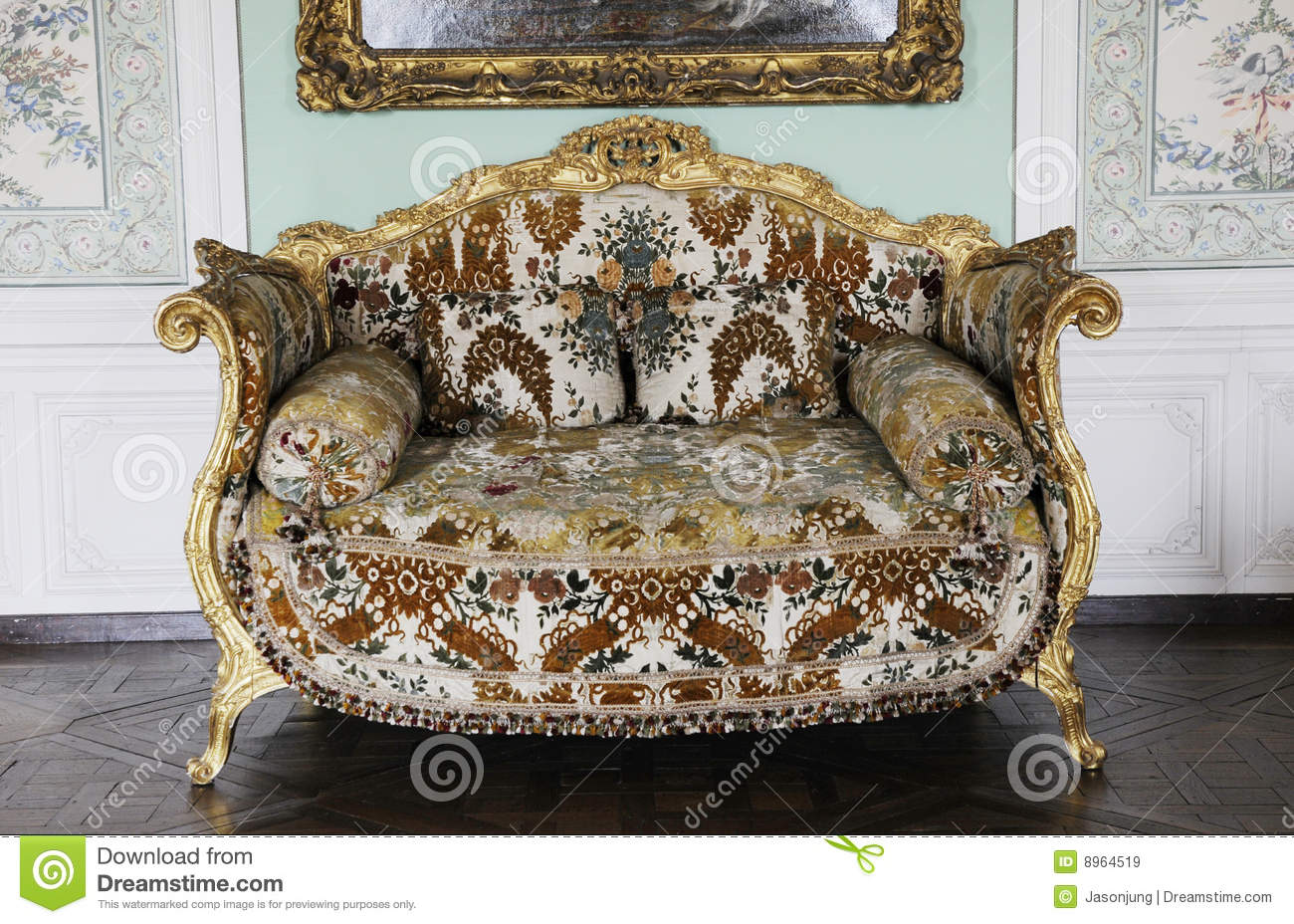 Royalty Free Stock Photo. Download Luxury Furniture Of Royal Palace ...