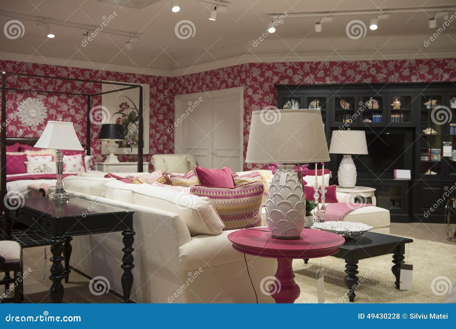 Luxury Furniture Store Stock Photo Image 49430228