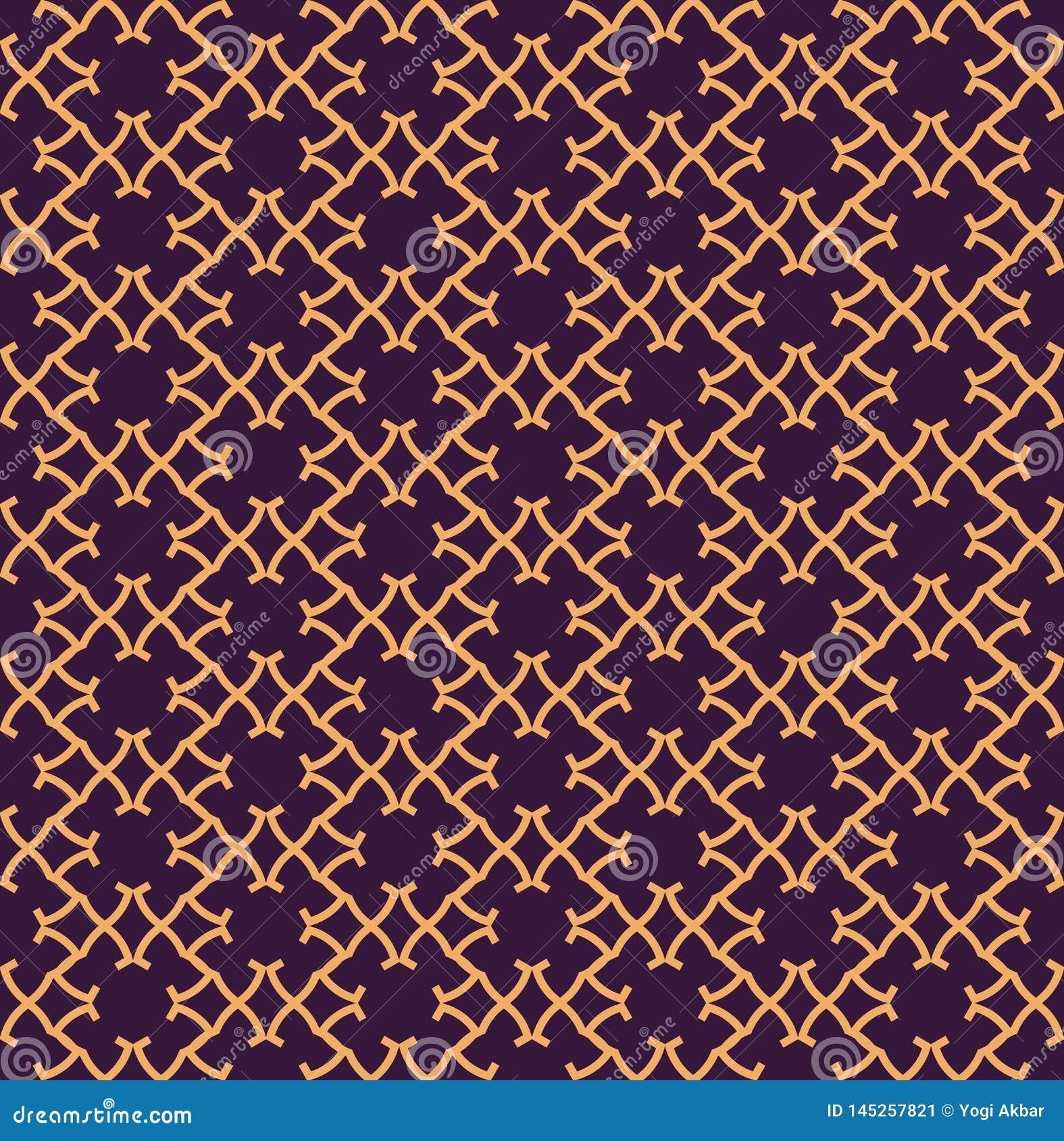 Luxury Geometric Pattern. Vector seamless pattern. Modern linear stylish texture. Geometric striped ornament