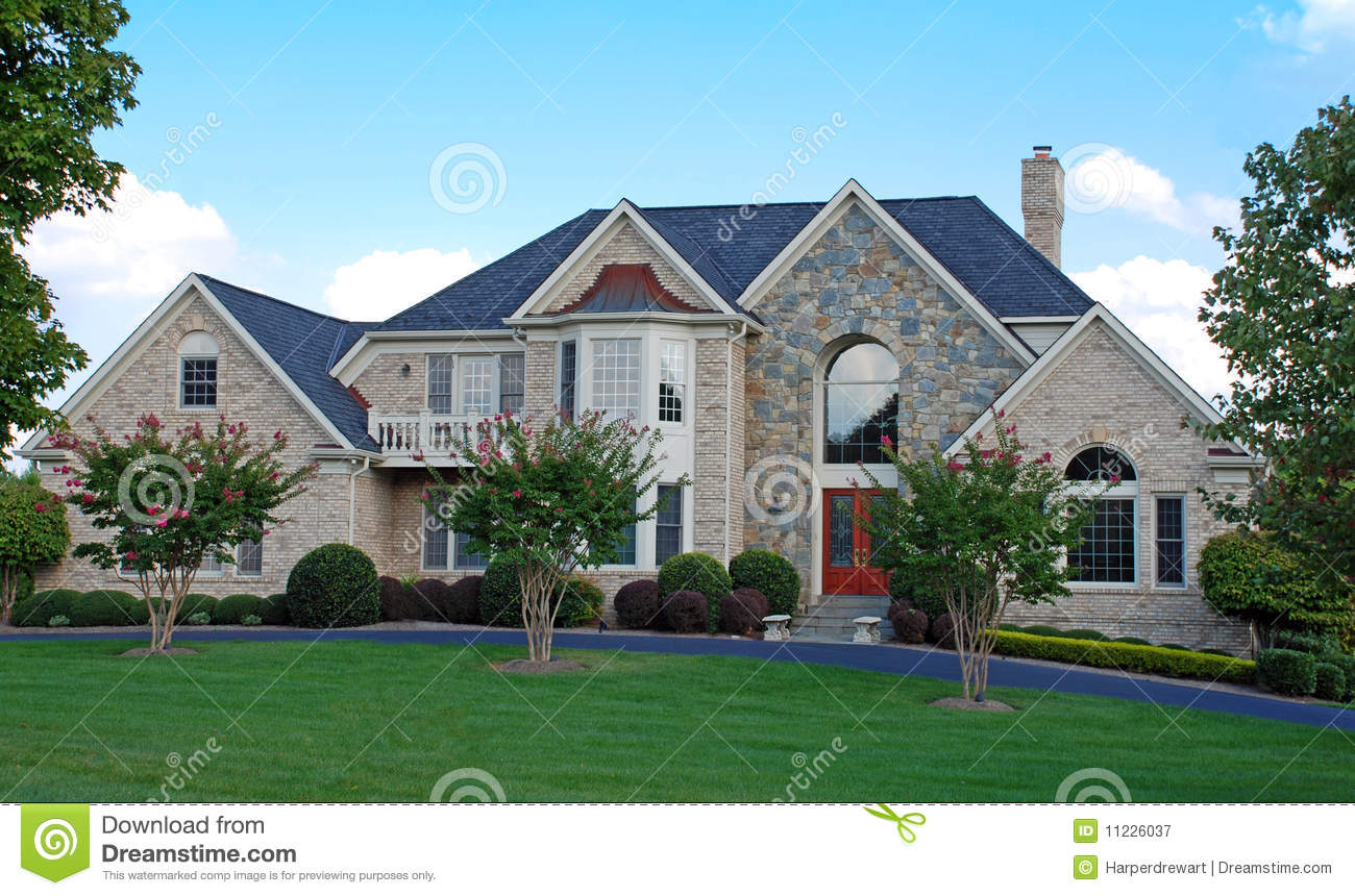 Luxury home 12 royalty free stock photography image for Free luxury home images
