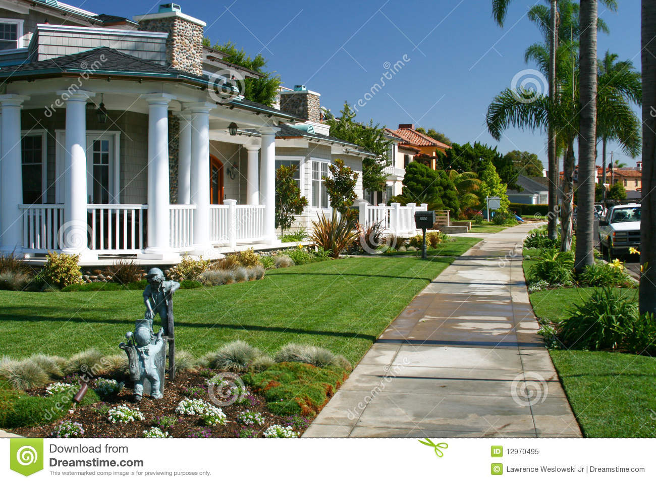 Luxury home 2 coronado california royalty free stock for Luxury houses in california