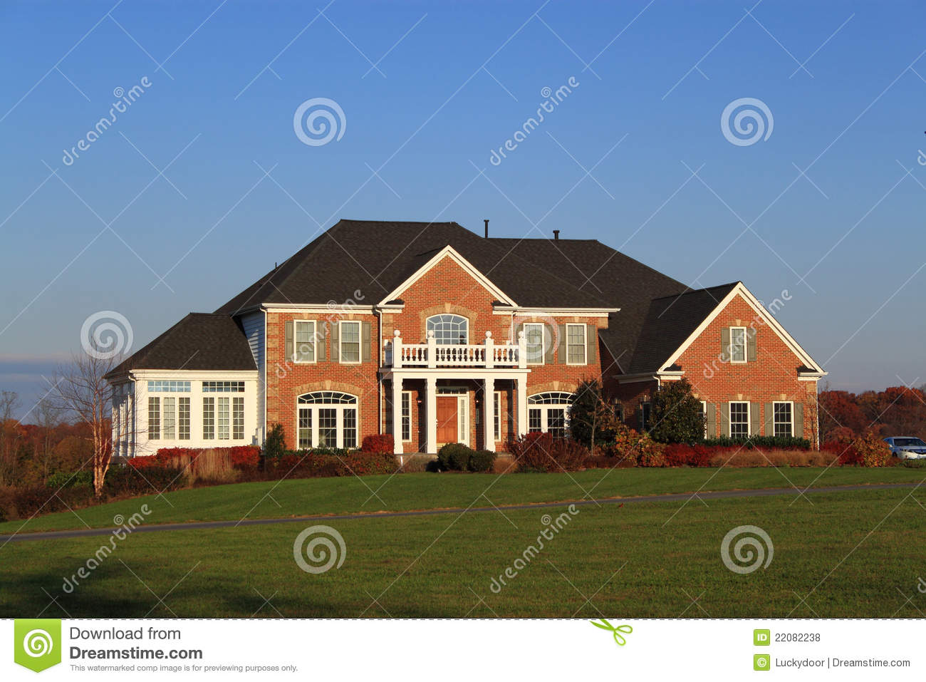 Luxury home royalty free stock photos image 22082238 for Free luxury home images