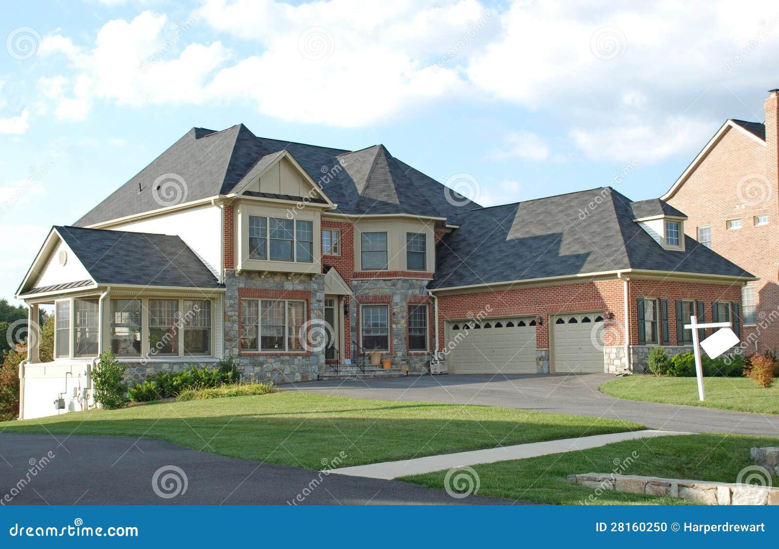 Luxury Home Stock Photo Image 28160250