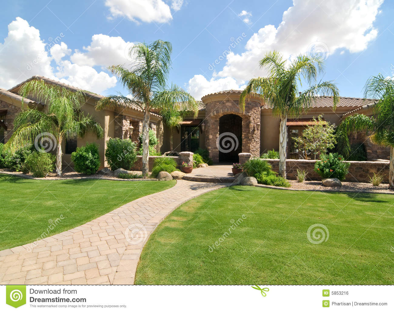 Luxury home royalty free stock image image 5853216 for Free luxury home images