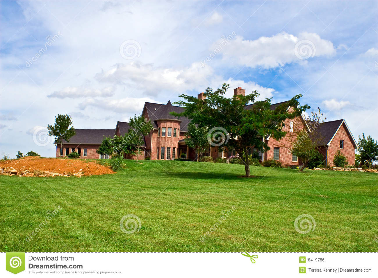 Luxury home royalty free stock image image 6419786 for Free luxury home images