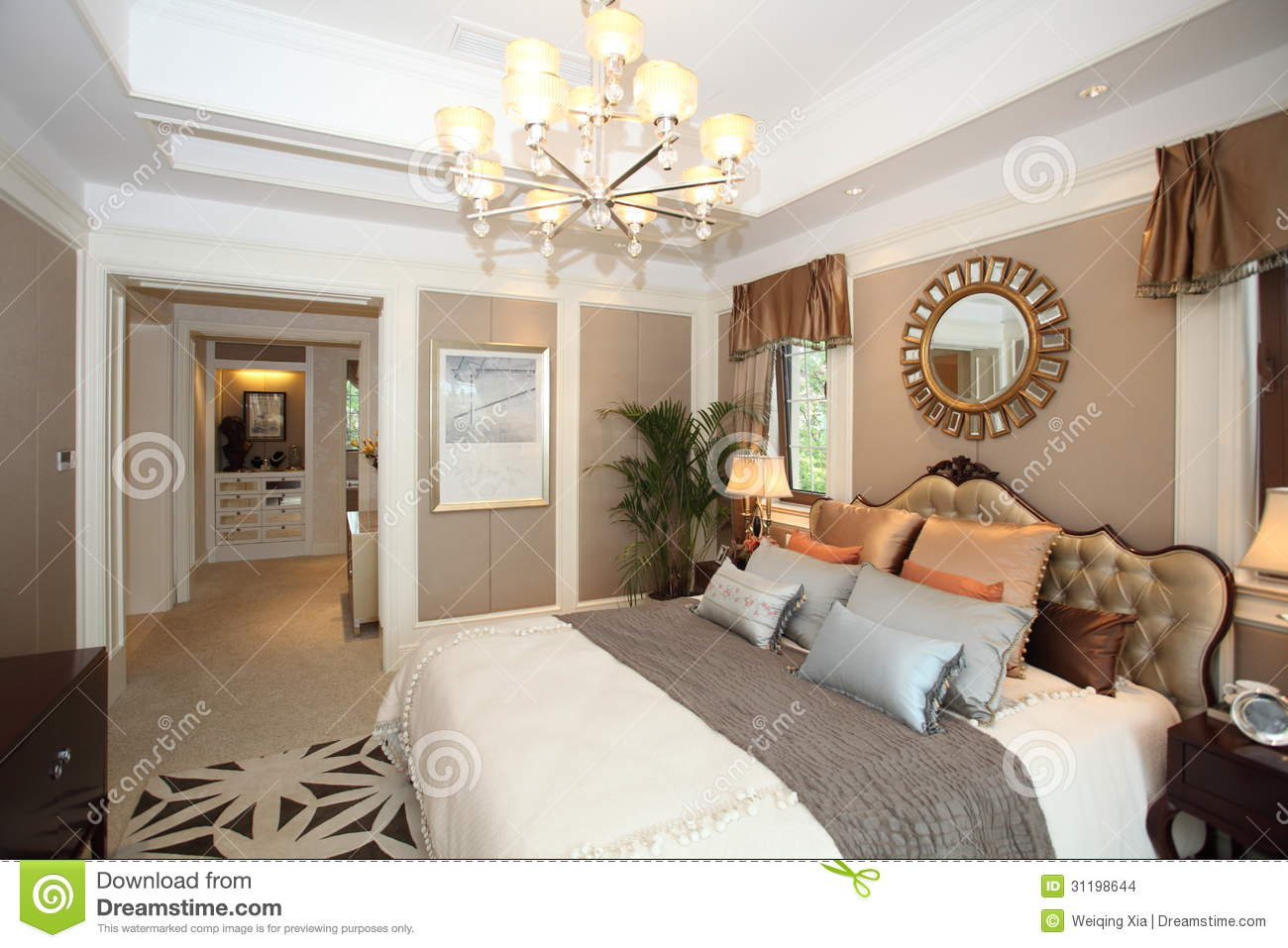Luxury home bedroom stock images image 31198644 for Interieur villa de luxe