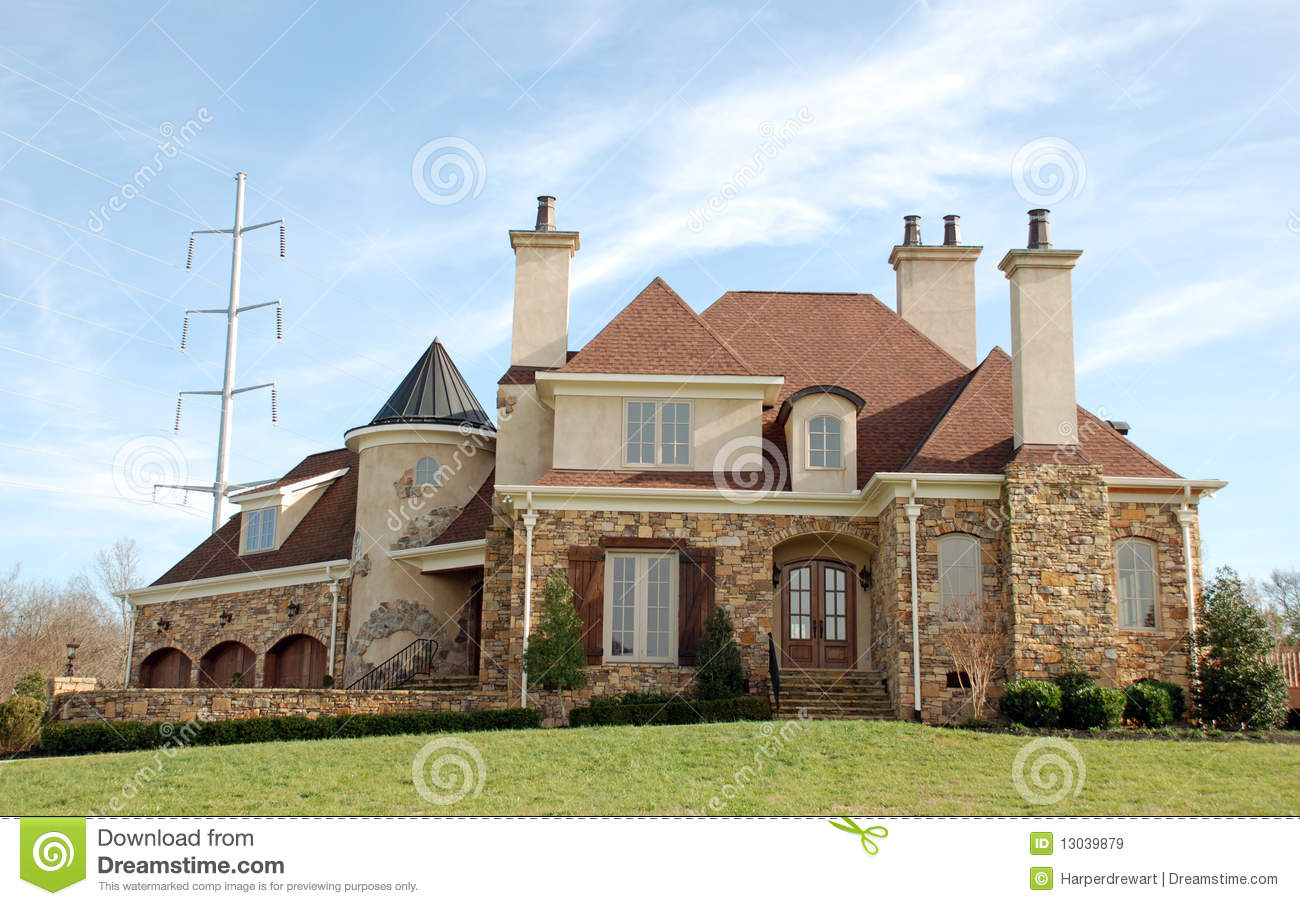 Luxury Home Castle 71 Royalty Free Stock Images Image
