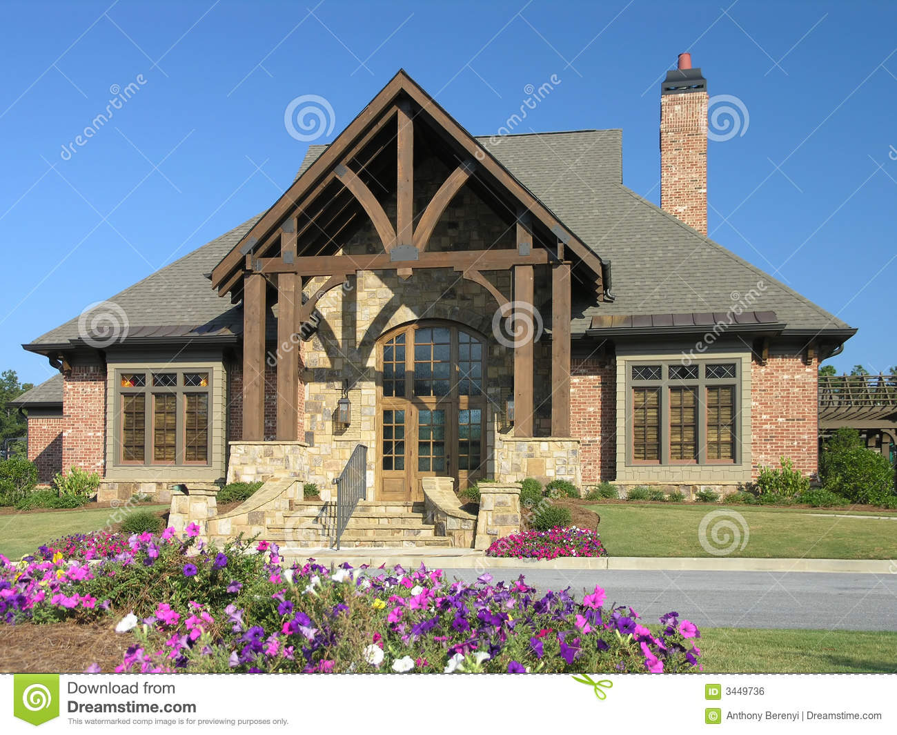 Luxury Home Exterior 02 Royalty Free Stock Image Image