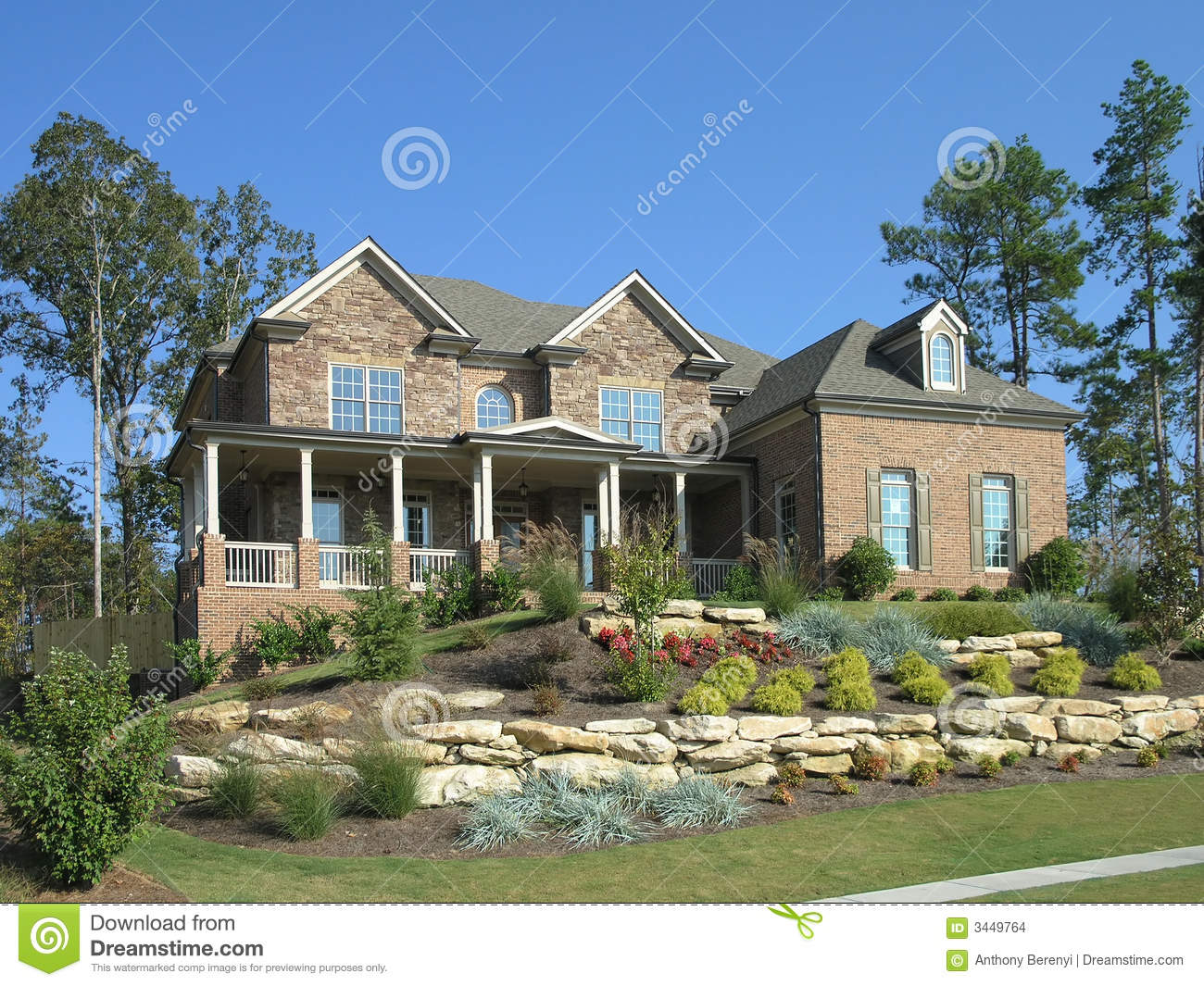 Luxury Home Exterior 07 Stock Images Image 3449764